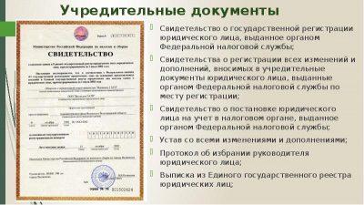 Что является учредительными документами ИП?